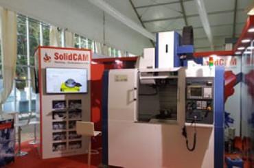 SolidCAM trình diễn iMachining tại IMTEX 2017