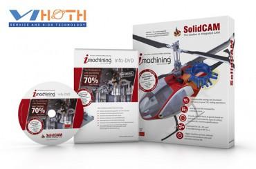 Giảm tới 50% bản quyền iMachining SolidCAM - Công nghệ gia công tốc độ cao