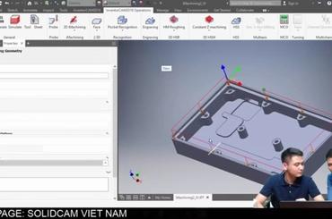 Imachining SolidCAM và việc giải quyết các lỗi trong lập trình gia công