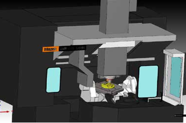 Tính năng mô phỏng va chạm trong SolidCAM