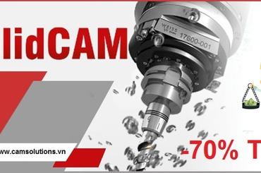 Download phần mềm lập trình CNC gia công phay, tiện SolidCAM