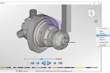 Mô phỏng gia công CNC trong SolidCAM 2021 có gì mới