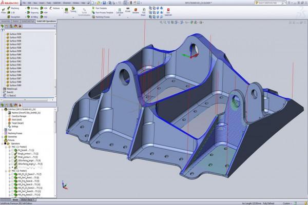 HSS SolidCAM gia công bề mặt tốc độ cao