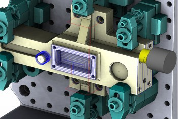 SolidCAM gia công chi tiết đa diện Indexial Multi Sided Machining