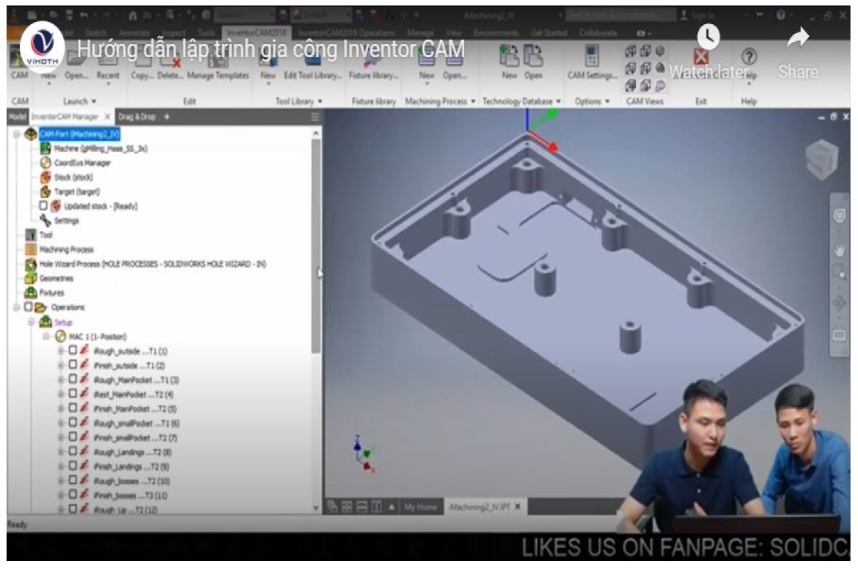 Phần mềm InventorCAM bản quyền vĩnh viễn