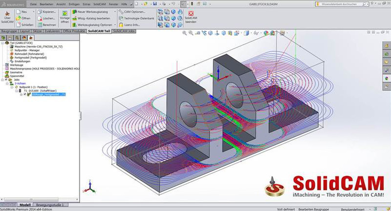 iMachining 3D